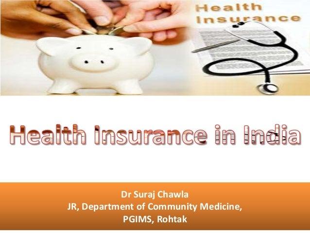 Dr Suraj ChawlaJR, Department of Community Medicine,            PGIMS, Rohtak