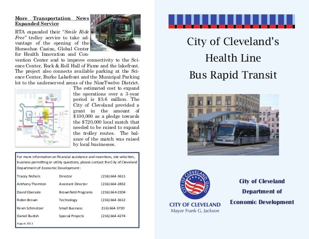 ITDP South Africa- Cleveland HealthLine Tour Guide
