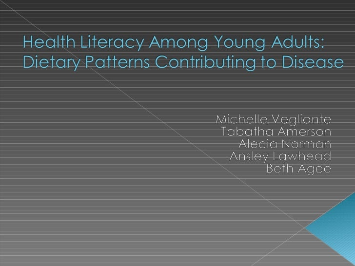 Health Literacy Among Young Adults