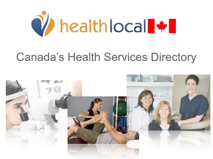 Canada's Health Services Directory