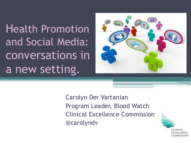 Health promotion and social media final   dec