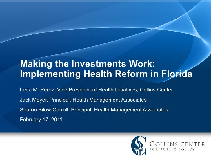 Health Reform in Florida