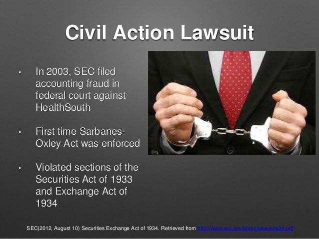 the accounting scandal of healthsouth The accounting scandal of healthsouth healthsouth corporation is based in birmingham, alabama, it is the largest provider of rehabilitative health care services - the accounting scandal of healthsouth introduction.