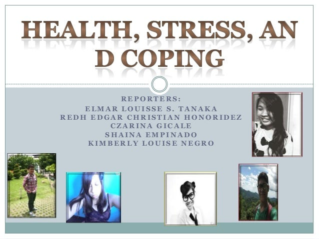 Report about Health Stress and Coping