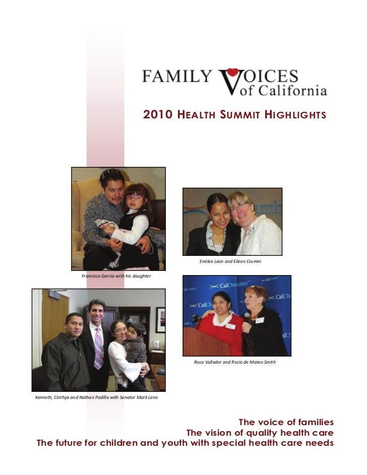 Health Summit2010 Highlights[1]