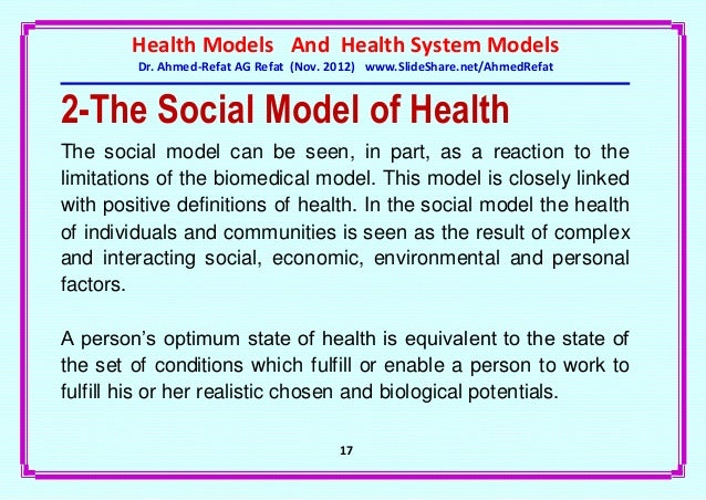 personal definition of health part b