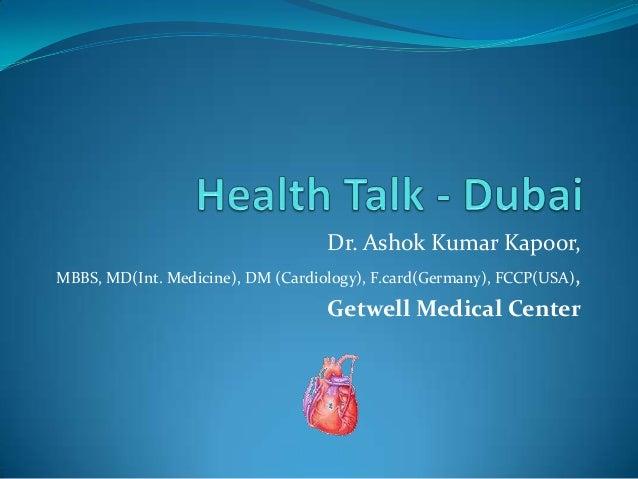 Health Talk in Dubai