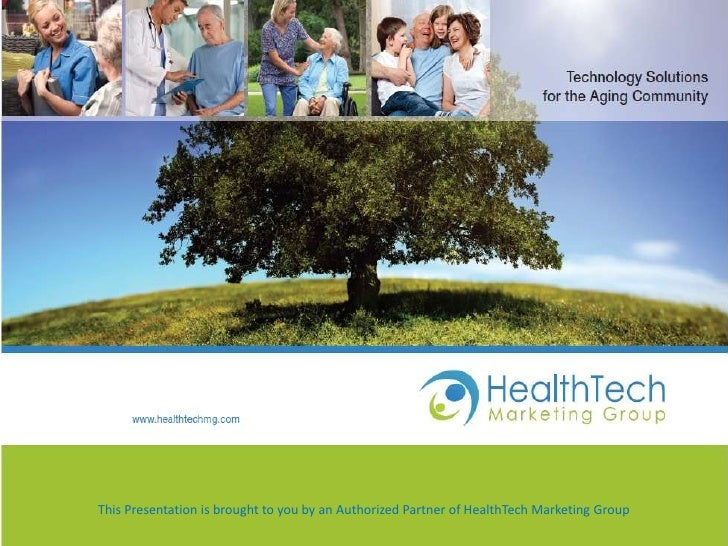 Health Tech End User Presentation- Presto, myHalo, Sonamba, Medipendant