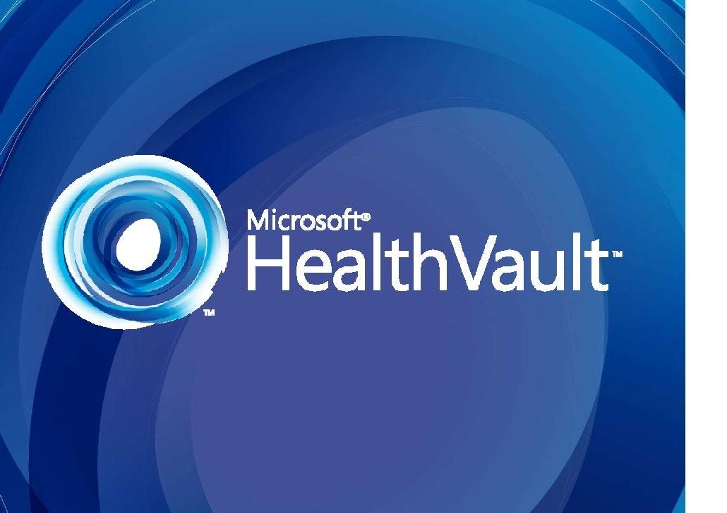 Healthvault Marketing Resources For Partners