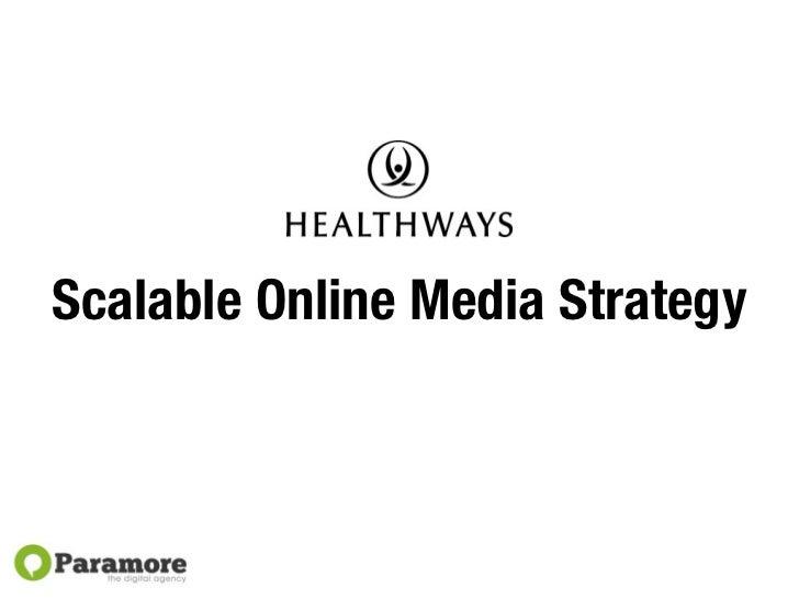 Healthways + Paramore   Email Marketing