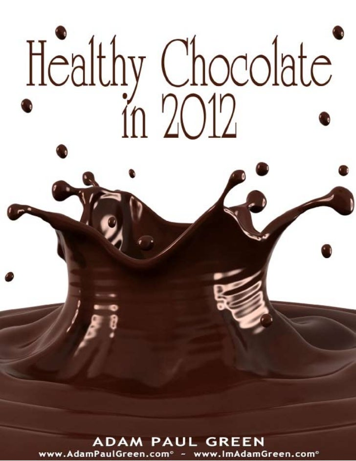 Healthy chocolate-in-2012