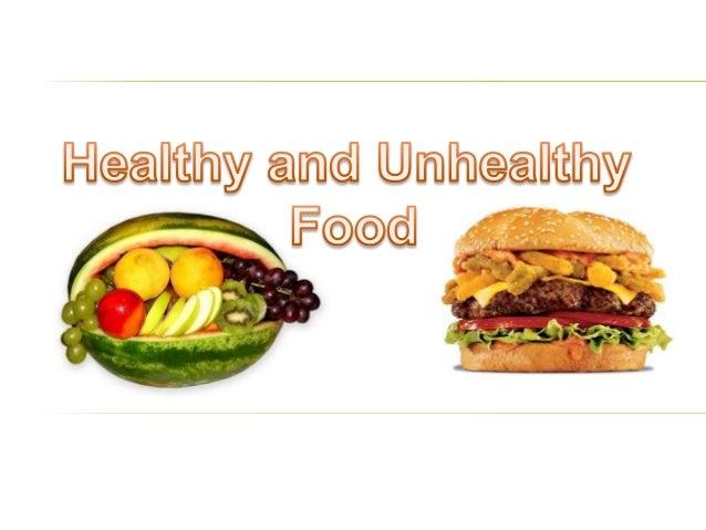 junk food vs healthy food essay