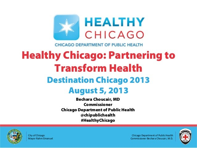Healthy Chicago Destination Talks