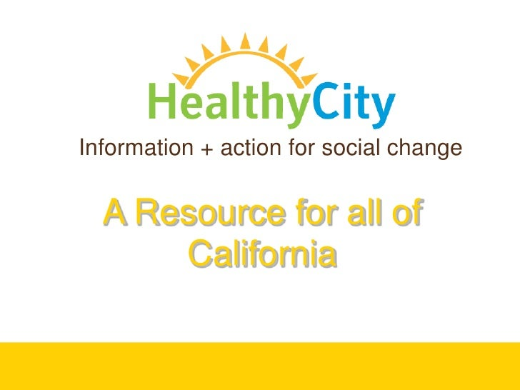 Healthy City Hands-on Advanced Training