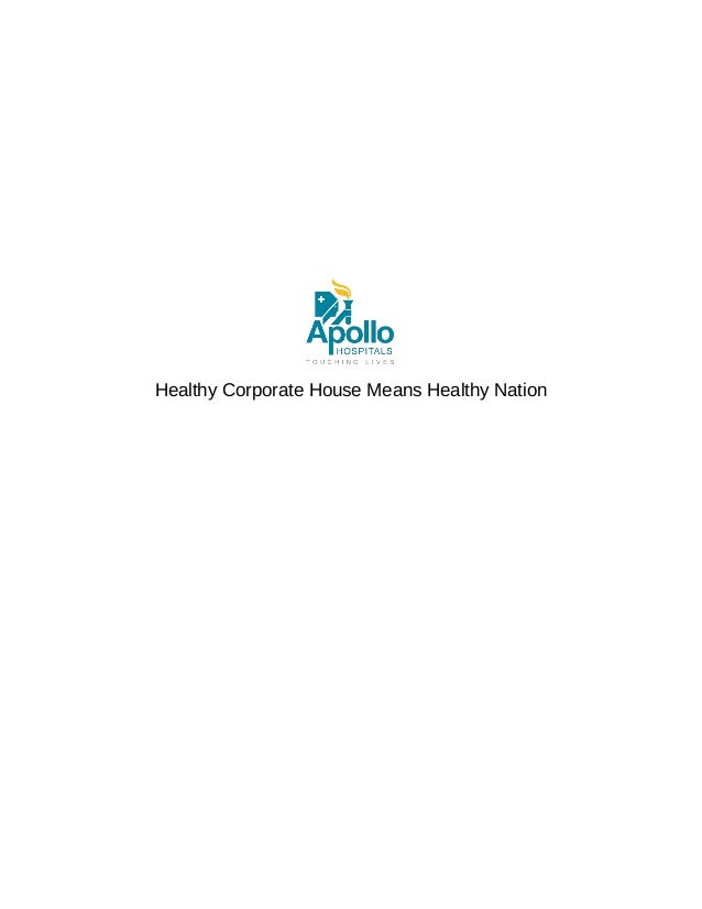 Healthy Corporate House Means Healthy Nation