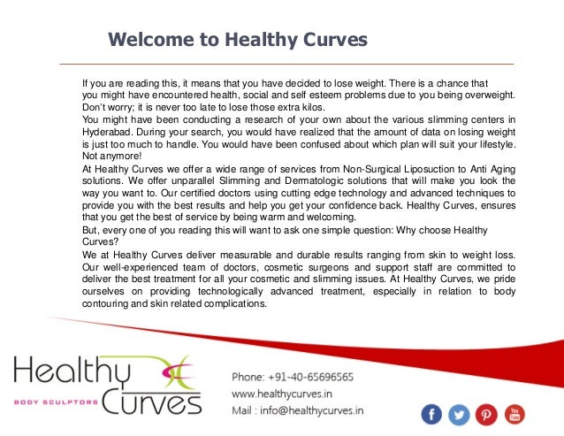 Welcome to Healthy Curves If you are reading this, it means that you have decided to lose weight. There is a chance that y...