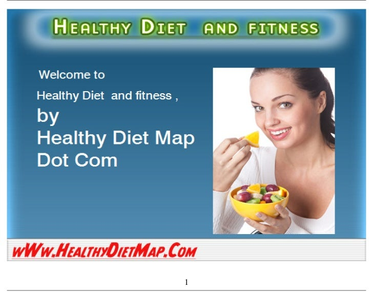 Healthy diet and fitness by healthy dietmap.com