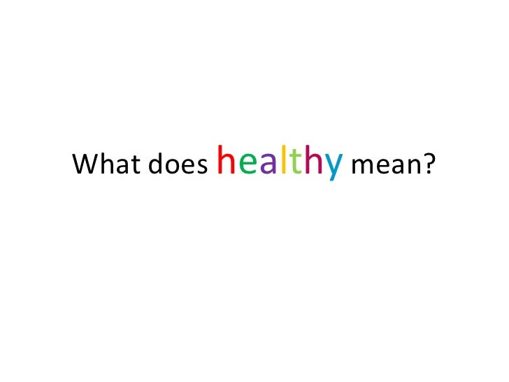 Healthy Diet and Lifestyle