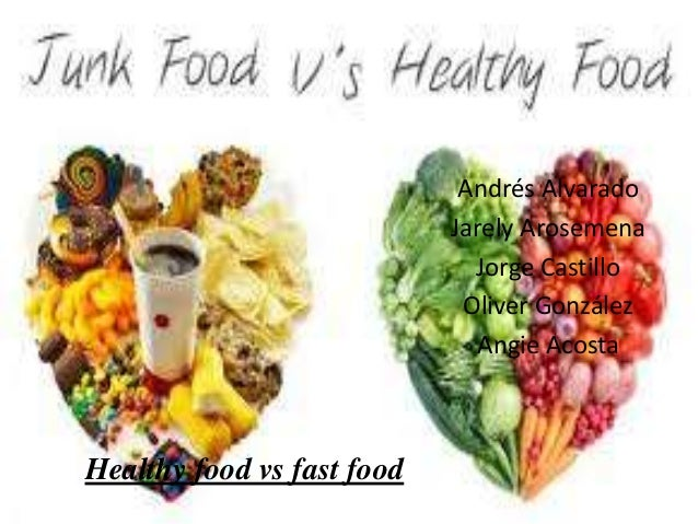 Healthy food vs fast food for Lean cuisine vs fast food