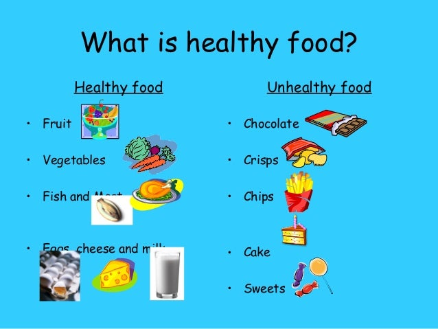 essay about healthy food for kids Essays - largest database of quality sample essays and research papers on junk food vs healthy food.