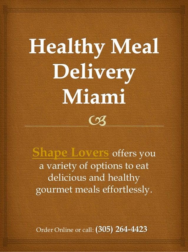 Miami Diet Delivery
