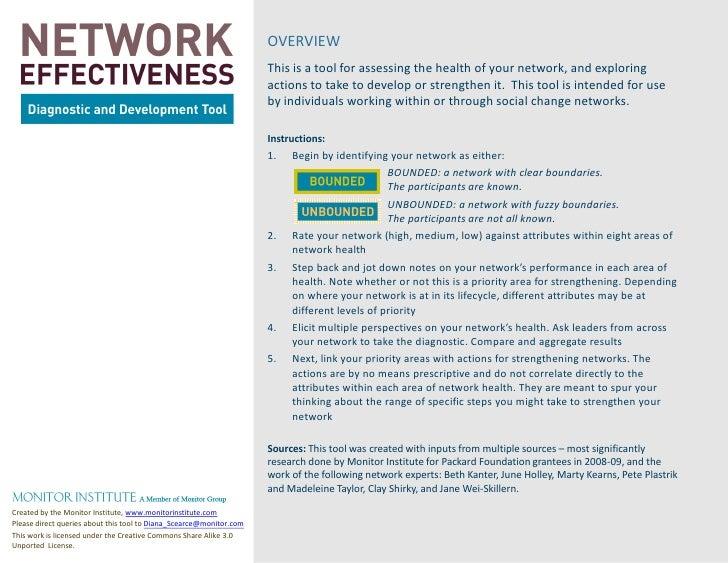 Healthy network diagnostic