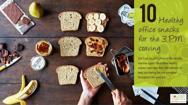 Healthy Office Snacks - Nourish Organics