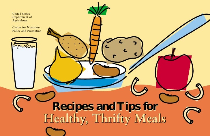 Healthy, thrifty meals