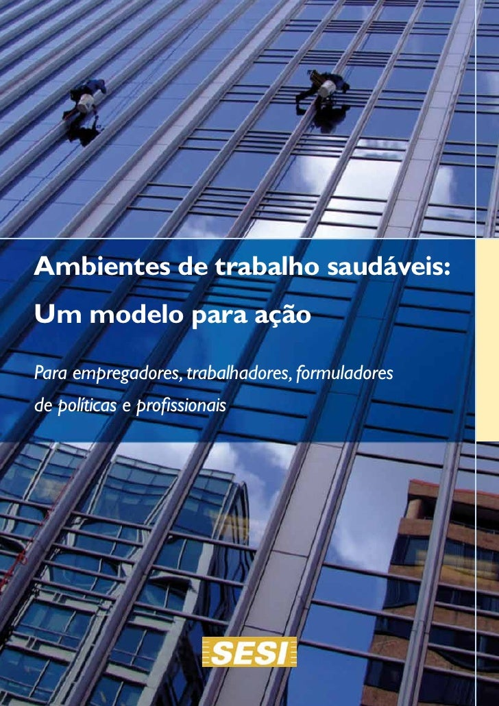 Healthy workplaces portuguese