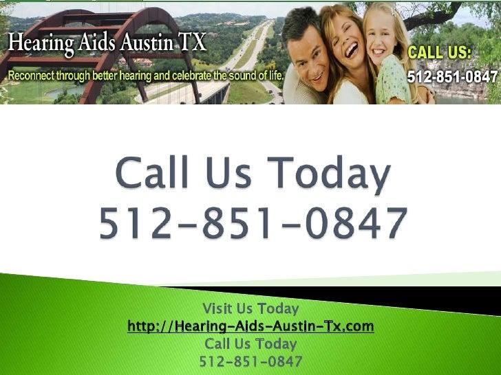 Hearing Exam Early Detection Austin TX