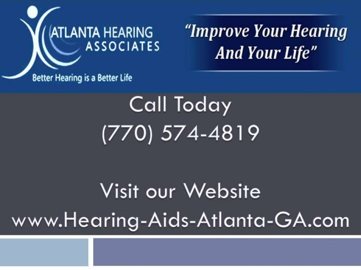 Hearing Loss Atlanta GA