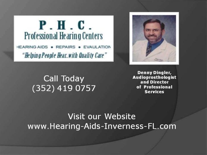 Hearing Loss Help | Inverness FL