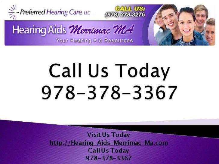 Hearing loss-marrimac-ma