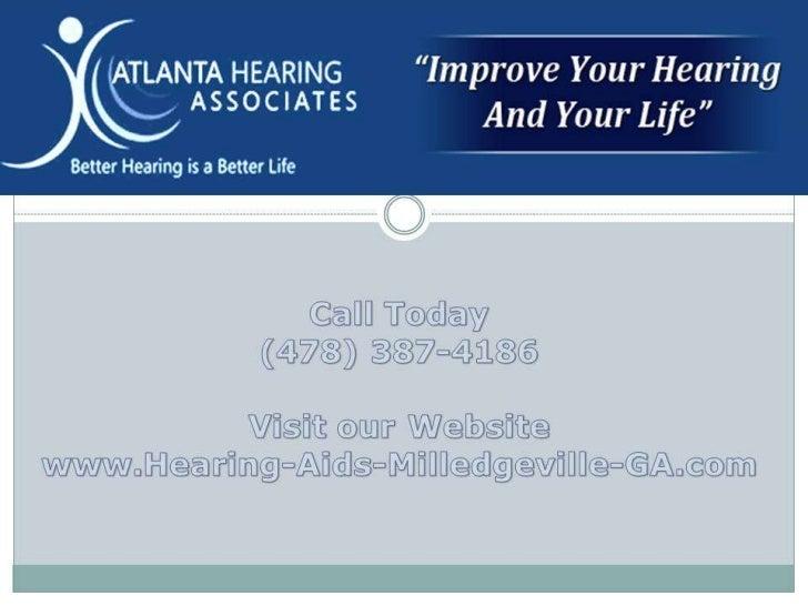 Hearing Loss Milledgeville GA