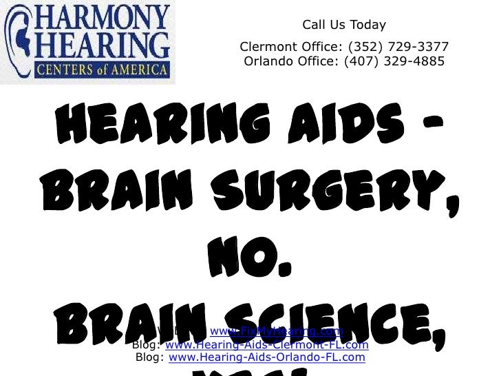 Call Us Today                    Clermont Office: (352) 729-3377                    Orlando Office: (407) 329-4885Hearing ...