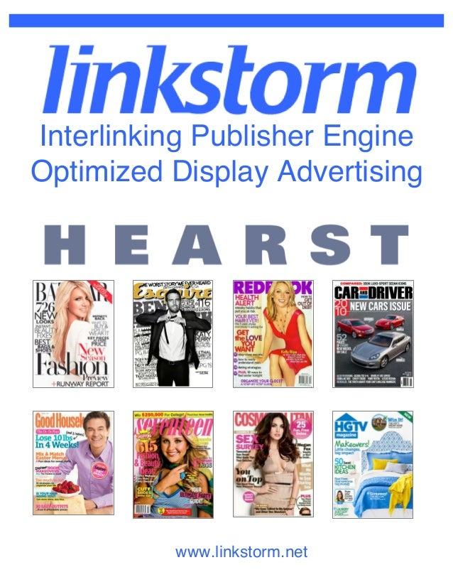 www.linkstorm.netInterlinking Publisher EngineOptimized Display Advertising