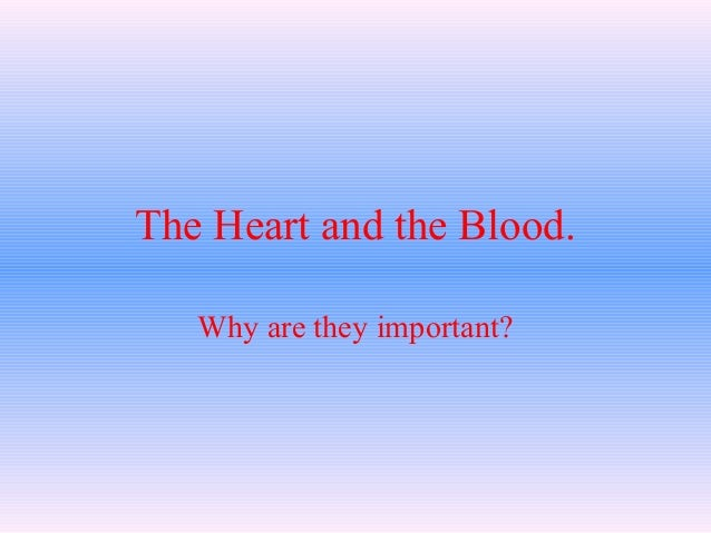 Heart blood