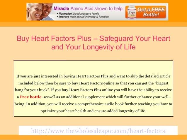 Heart Factors Plus by Chamonix