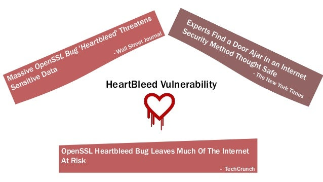 OpenSSL Heartbleed Bug Leaves Much Of The Internet At Risk - TechCrunch HeartBleed Vulnerability