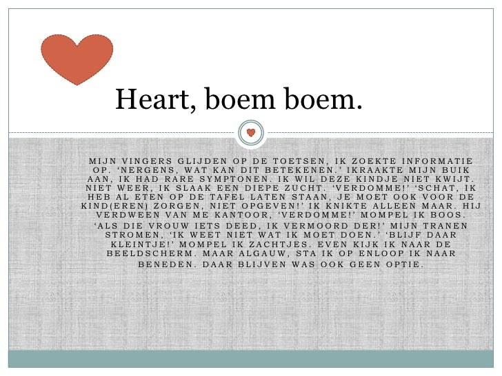 Heart, boem boem. 0.1