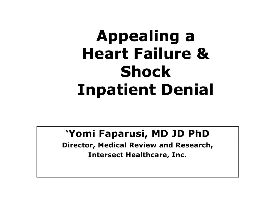 Heart Failure and Shock slides