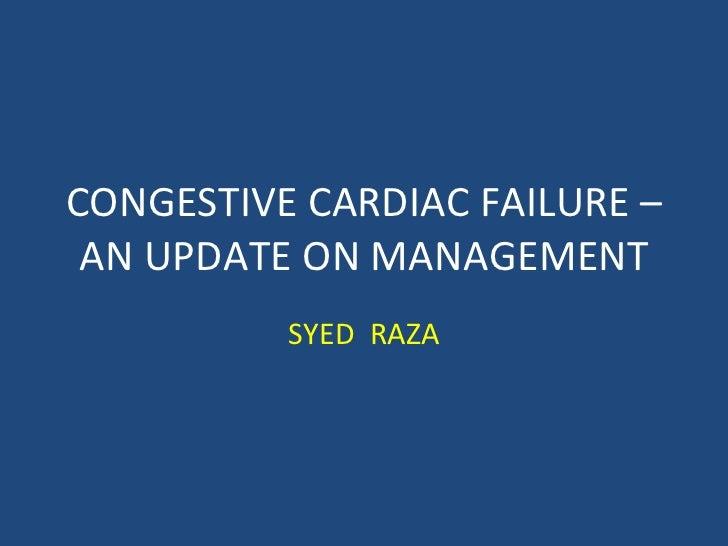 Heart failure – an update [autosaved]