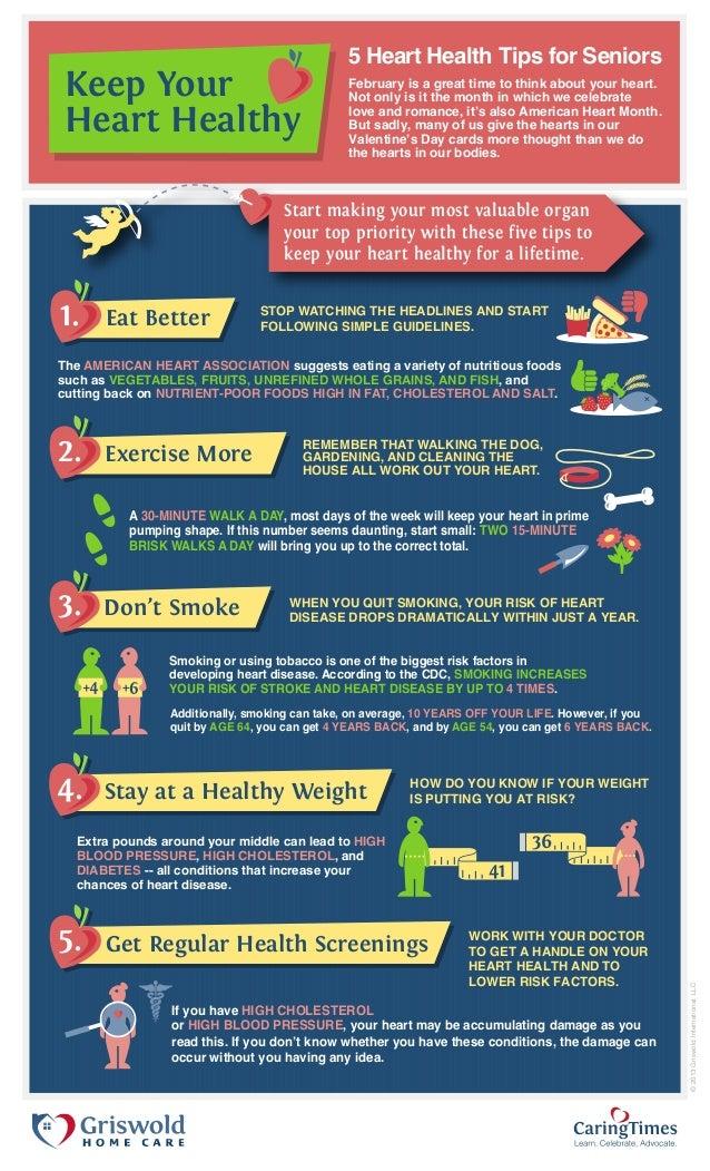 Health Tips: Heart Health Tips For Seniors