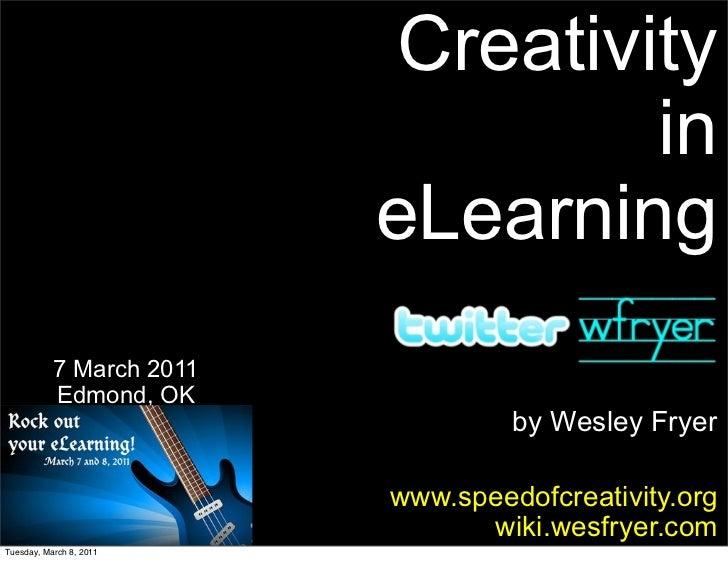 Creativity in eLearning