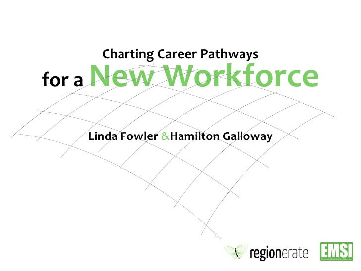 Charting Career Pathways for a New Workforce<br />Linda Fowler &Hamilton Galloway<br />