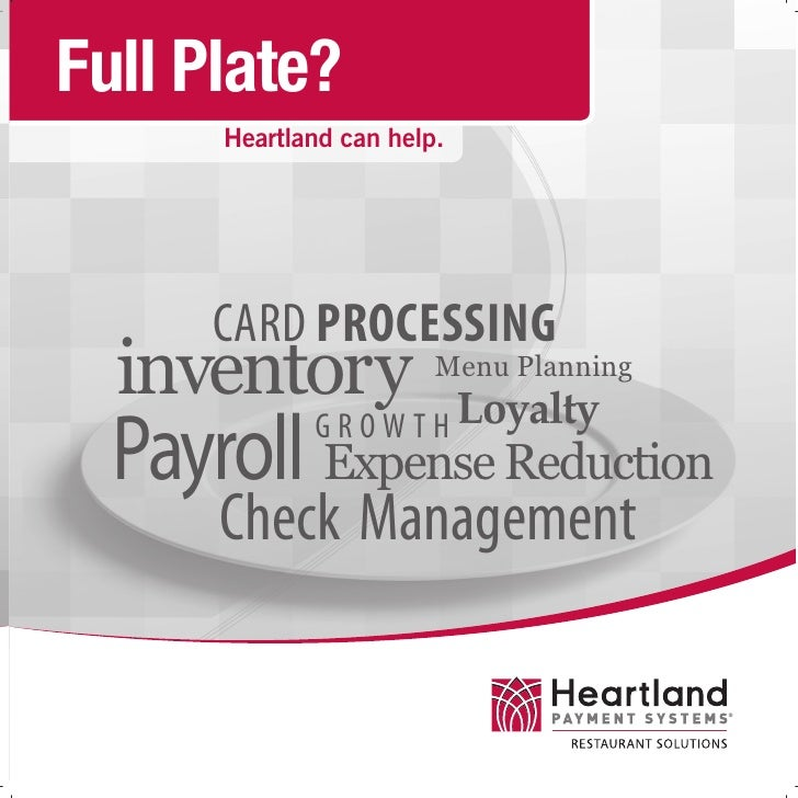 Heartland Restaurant Solutions Pdf