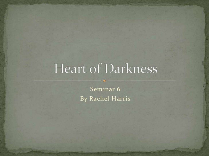 Heart of darkness essay topics