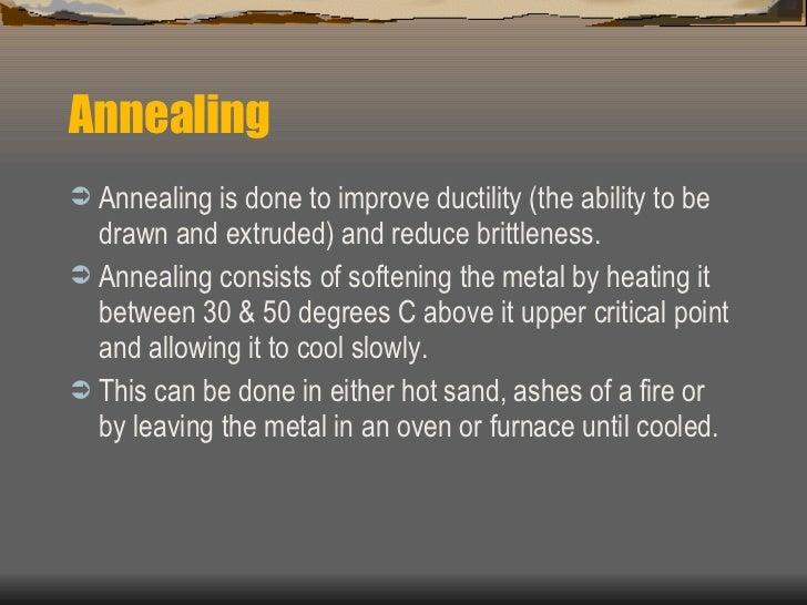 Heat Treatment Of Metals Powerpoint