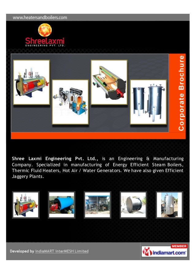 Shree Cement Ltd Mail : Company brochure shree laxmi engineering private limited