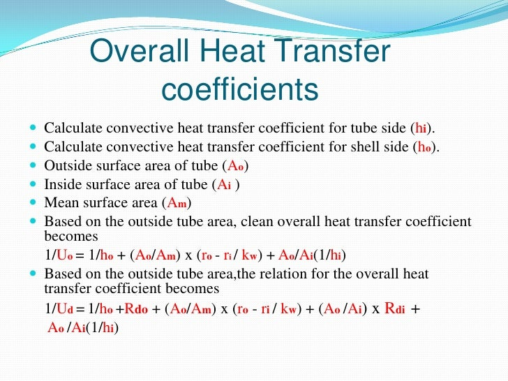 Download Convective Heat Transfer Coefficient Calculator | Gantt Chart Excel Template